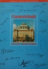Gastenboek te boek,Guests Registered.