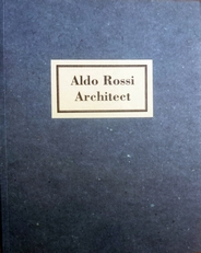 Aldo Rossi Architect.