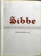 Sibbe Maandblad Voor Sibbekunde 1941,1942,1943 en 1944