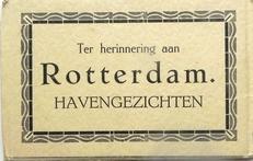 Ter herinnering aan Rotterdam. Havengezichten.
