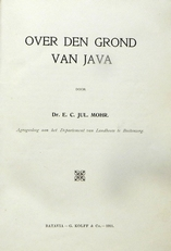 Over dengrond van Java.