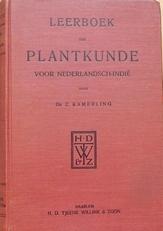 Leerboek der plantkunde voor Nederlandsch-Indie.