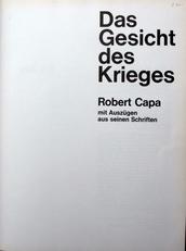 Robert Capa ,Das Gesicht des Krieges