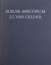 Album Amicorum J.G.Van Gelder