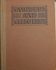 Samplers and Stitches,handbook embroidery