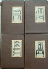 Little books about Furniture (4 parts)