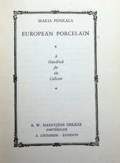 European Porcelain, a handbook for the collector.