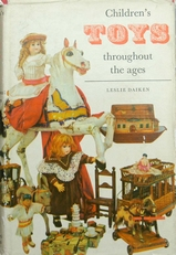 Children's toys throughout the ages