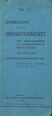 Overzicht van de Inkwartieringswet 1918