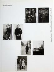 Menschen des 20. Jahrhunderts,Studienband
