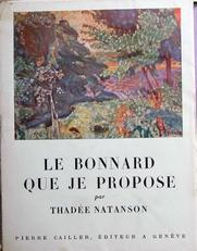 Le Bonnard que je Propose