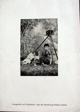 Fotografien auf Postkarten,sammlung Robert Lebeck.