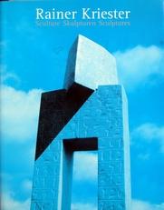 Rainer Kriester,Sculture,skulpturen,sculptures