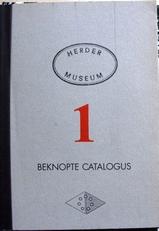 Herder Museum ,beknopte catalogus 1