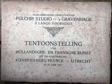 Tentoonstelling van Holl.en Fransche Kunst door Huinck