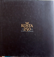 Kosta 250 years of craftsmanship