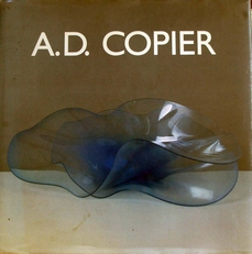 A.D.Copier Triologie in Glas.