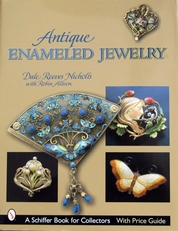 Antique Enameled Jewelry