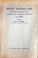 Bezet Nederland en het Haagsche Landoorlogsregelement