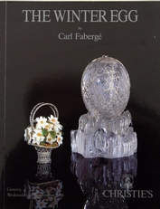 The Winter Egg ,Carl Faberge