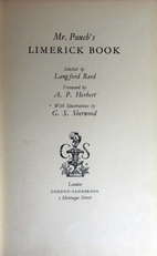 Mr.Punch's Limerick Book.