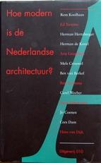 Hoe modern is de Ne4derlandse architectuur