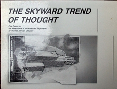 The skyward trend of thought.