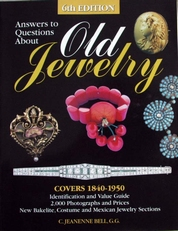 Old Jewelry,answers to questions about.covers 1840-1950.