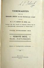 Tropische ziekten Oost-Indischen Archipel