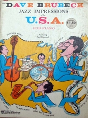 Jazz Impressions of the U.S.A. for piano