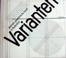 Varianten ,abstrakt-geometrische kunst in Nederland