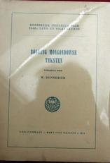 Bollang Mongondowse teksten