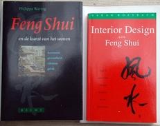 Feng Shui,Interior design en de kunst van het wonen 2 boeken