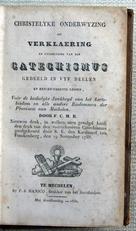 Verklaering van den Catechismus