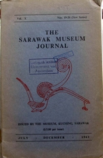 The Sarawak Museum Journal