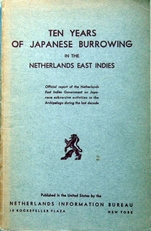 Ten Years of Japanese Burrowing in Ned. East-Indies.