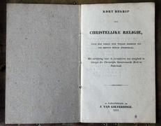 Kort begrip der Christelijke religie (avondmaal)