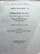 Literature of ,volume III
