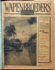 Wapenbroeders,uitgave Ned. Strijdkrachten in Ned.-Indie.