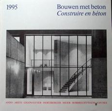 Bouwen met beton,Construire en beton.1995