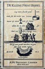 De Kleine Print-Bijbel.