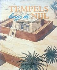 Tempels l,ngs de Nijl, Oud Egypte in tekeningen.