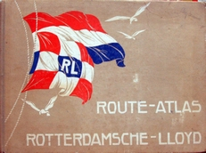 Route-Atlas van den Rotterdamschen Lloyd.