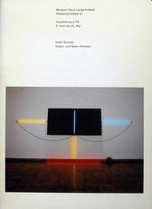Keith Sonnier,Argon- und Neon-Arbeiten.
