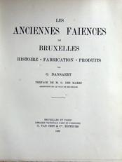 Les Anciennes Faiences de Bruxelles
