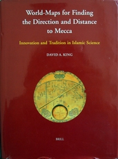 World-Maps for finding the Direction and Distance to Mecca.