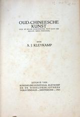 Oud-Chineesche kunst,oorsprong tot 1368 (ming periode).