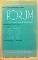 Forum,maandschrift voor letteren en kunst.