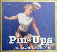 Pin-Ups, 1998 Taschen Calendar.