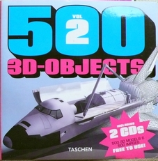 500 3d Objects vol2